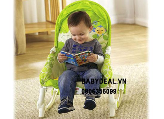 GHẾ RUNG FISHER PRICE X7047 cho bé, shop mẹ và bé, giá rẻ tại tp hcm
