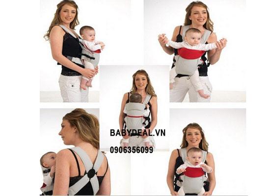Địu Mềm 2 Tư Thế Cho Bé cho bé, shop mẹ và bé, giá rẻ tại tp hcm