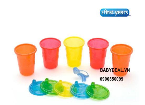 Ly Tập Uống First Year Take & Toss - Set 4 Cái cho bé, shop mẹ và bé, giá rẻ tại tp hcm