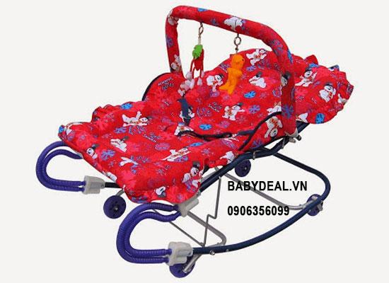 Ghế Nhún Ăn Bột Autoru XAB 02 cho bé, shop mẹ và bé, giá rẻ tại tp hcm