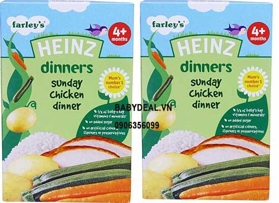 Bột Ăn Dặm Heinz Gạo Gà 4 Tháng