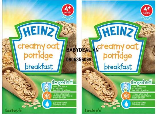Bột Ăn Dặm Heinz - Yến Mạch Cháo cho bé, shop mẹ và bé, giá rẻ tại tp hcm