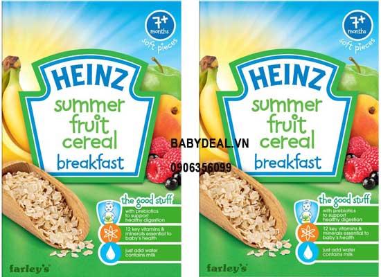 Bột Ăn Dặm Heinz - Ngũ Cốc Trái Cây 7 Tháng