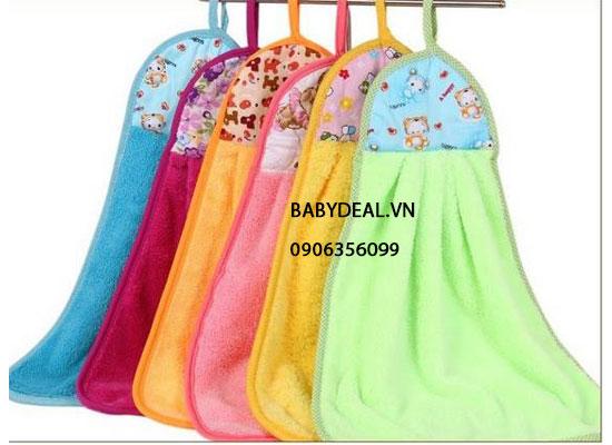 Set 2 Cái Khăn Lau Tay cho bé, shop mẹ và bé, giá rẻ tại tp hcm