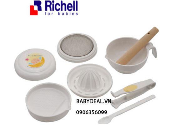 Bộ Chế Biến Thức Ăn Richell 8 Món (53371)