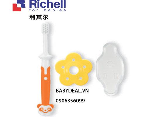 Bàn Chải Đánh Răng Richell Bước 3 (12M) cho bé, shop mẹ và bé, giá rẻ tại tp hcm