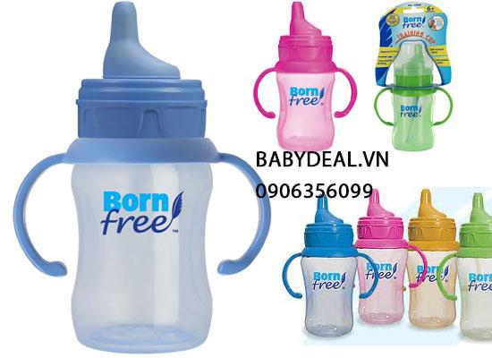 Bình Tập Uống Nước Born Free 210ml