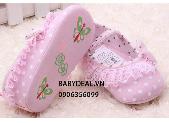 Giày Tập Đi Bé Gái- Mẫu 4 cho bé, shop mẹ và bé, giá rẻ tại tp hcm