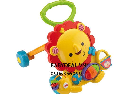 Xe Tập Đi Fisher Price Musical Walker, Lion cho bé, shop mẹ và bé, giá rẻ tại tp hcm