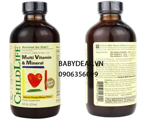 ChildLife Vitamins and Minerals