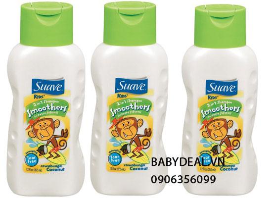Dầu Gội Suave Kids cho bé, shop mẹ và bé, giá rẻ tại tp hcm
