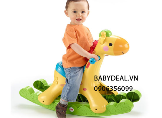 Ngựa bập Bênh Fisher Price