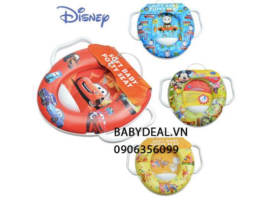 Nắp Lót Bồn Cầu Có Tay Vịn Disney cho bé, shop mẹ và bé, giá rẻ tại tp hcm