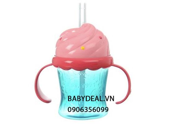 Bình Nước Ống Hút Munchkin Hình Bánh Kem cho bé, shop mẹ và bé, giá rẻ tại tp hcm
