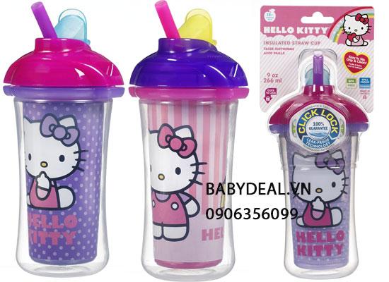 Bình Nước Ống Hút Giữ Nhiệt Kitty Munchkin cho bé, shop mẹ và bé, giá rẻ tại tp hcm
