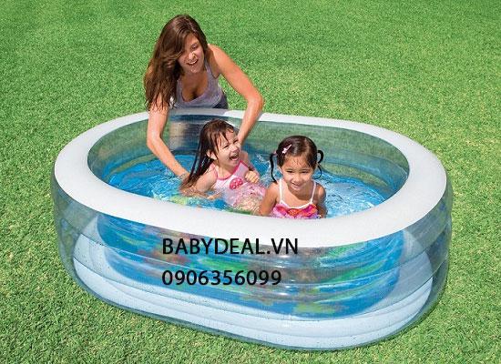 Bể Bơi Intex 2 Tầng 163cm