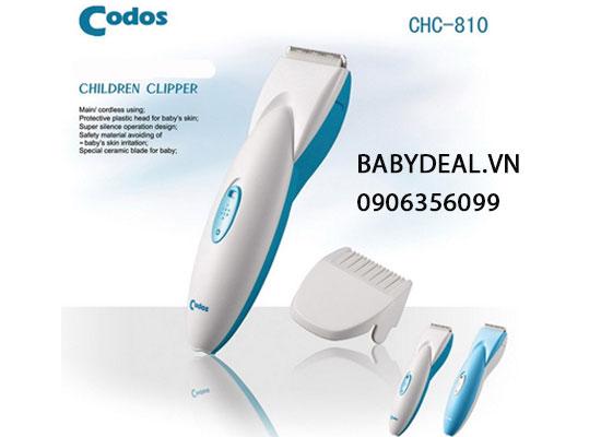 Tông Đơ Cắt Tóc Cho Bé Codos CHC 810