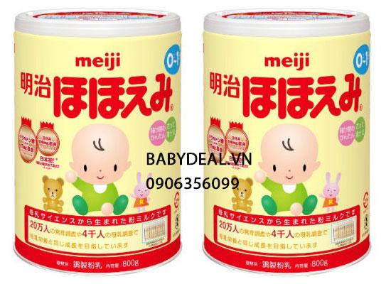 Sữa Meiji Số 0 Hàng Nội Địa Nhật, Hộp 800gr cho bé, shop mẹ và bé, giá rẻ tại tp hcm