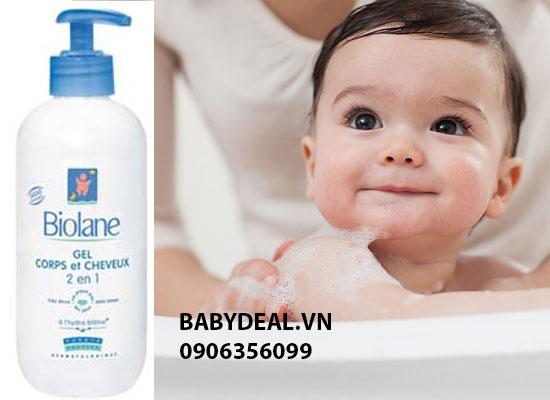 Sữa Tắm Gội Biolane 350ml - Nhập Khẩu Từ Pháp