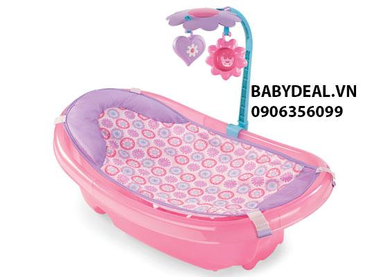 Chậu Tắm Có Lưới Đỡ và Thanh Đồ Chơi Summer (Mỹ) cho bé, shop mẹ và bé, giá rẻ tại tp hcm
