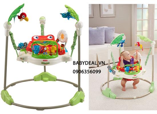 Ghế Nhảy Jumperoo Rain Forest cho bé, shop mẹ và bé, giá rẻ tại tp hcm