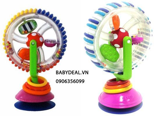 Lục Lạc Xoay Sassy Wonder Wheel cho bé, shop mẹ và bé, giá rẻ tại tp hcm
