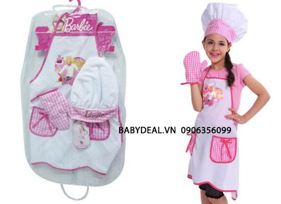 Tạp Dề Cho Bé Barbie cho bé, shop mẹ và bé, giá rẻ tại tp hcm