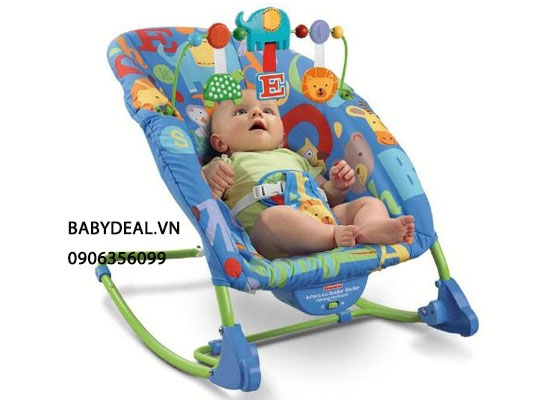 Ghế Rung Fisher Price Duluxe Infant To Toddler Rocker T4257