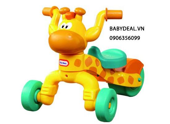 Xe Chòi Chân Little Tikes Go & Grow Lil' Rolling' Giraffe cho bé, shop mẹ và bé, giá rẻ tại tp hcm
