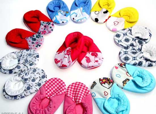 Giày Vải Cho Bé - Set 5 Đôi cho bé, shop mẹ và bé, giá rẻ tại tp hcm