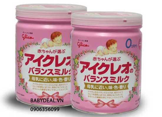 Sữa Glico Số 0 (Hàng Nội Địa Nhật) cho bé, shop mẹ và bé, giá rẻ tại tp hcm