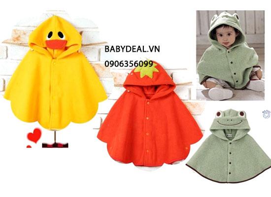 Áo Choàng Hình Thú Cho Bé cho bé, shop mẹ và bé, giá rẻ tại tp hcm