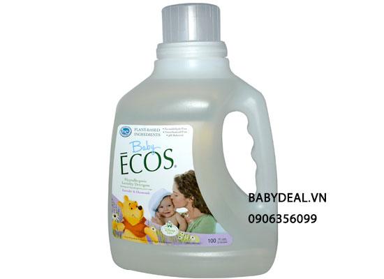 Nước Giặt Xả Quần Áo Ecos Baby 1,47L Sản Xuất Tại Mỹ