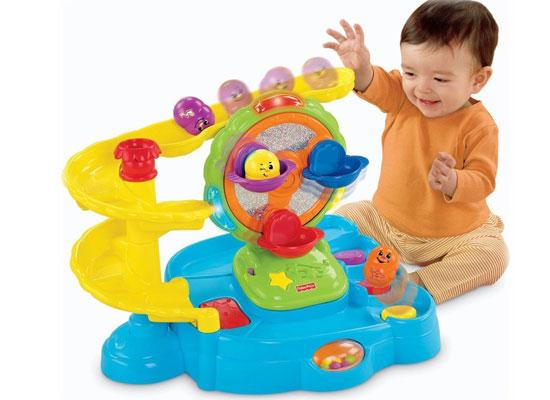 Thả Bóng Phát Nhạc Fisher Price Topzy Tumblers Twirlin' Tumblin' Fun Park