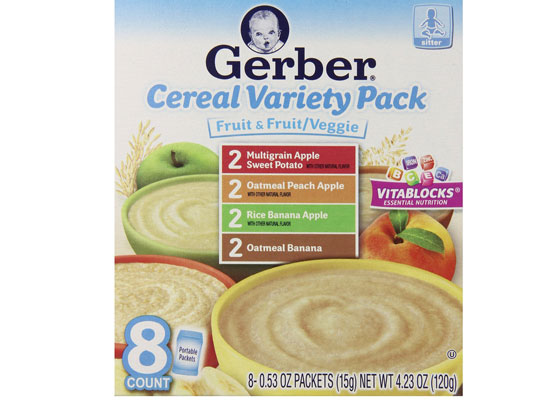 Bột Ăn Dặm Gerber Vị Tổng Hợp cho bé, shop mẹ và bé, giá rẻ tại tp hcm