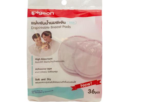 Thấm Sữa Mẹ Pigeon Bịch 36 Miếng - Hàng Thái Lan