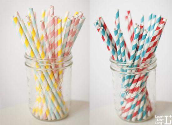 Set 25 Ống Hút Trang Trí Bàn Tiệc cho bé, shop mẹ và bé, giá rẻ tại tp hcm