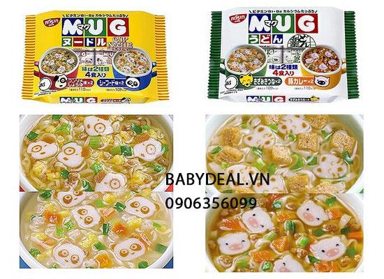 Mỳ Ăn Liền Mug Nissin Nhật Bản - Thùng 12 gói cho bé, shop mẹ và bé, giá rẻ tại tp hcm