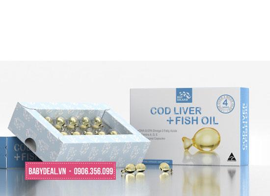 Dầu Gan Cá Bio Island Baby Cod Liver Oil cho bé, shop mẹ và bé, giá rẻ tại tp hcm