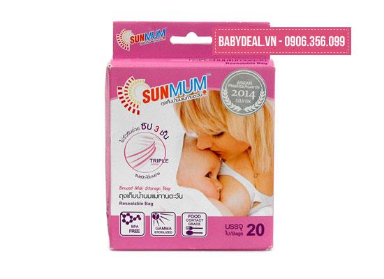 Túi Đựng Sữa Mẹ Sunmum  (Thái Lan)