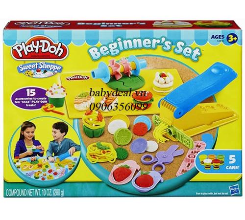 Bộ Chế Biến Thức Ăn Đơn Giản Playdoh cho bé, shop mẹ và bé, giá rẻ tại tp hcm