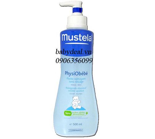 Sữa Tắm Gội Khô Mustela (Pháp)