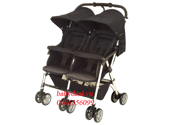 Xe Đẩy Đôi Spazio Duo cho bé, shop mẹ và bé, giá rẻ tại tp hcm