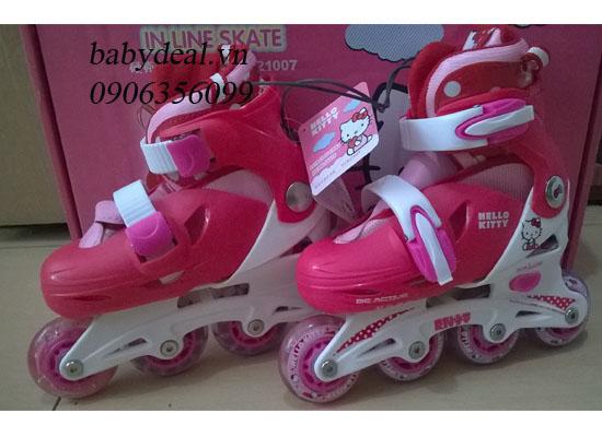 Giày  Trượt Patin Hello Kitty cho bé, shop mẹ và bé, giá rẻ tại tp hcm