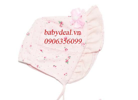 Nón Hoa Có Vành Tai Bèo cho bé, shop mẹ và bé, giá rẻ tại tp hcm