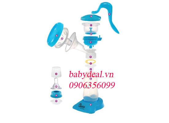 Máy Hút Sữa Tay Upass cho bé, shop mẹ và bé, giá rẻ tại tp hcm