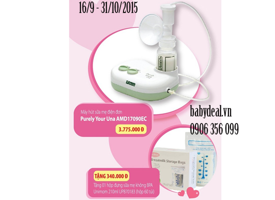 Máy Hút Sữa Điện Đơn AMEDA – Una