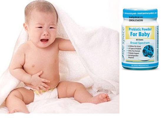 Men Vi Sinh Probiotic Powder For Baby 60g cho bé, shop mẹ và bé, giá rẻ tại tp hcm