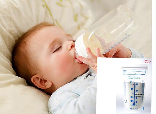 Túi Trữ Sữa Eco Unimom 60 Túi cho bé, shop mẹ và bé, giá rẻ tại tp hcm