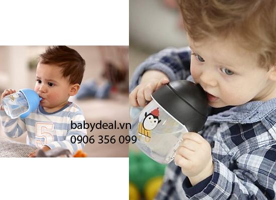 Bình Tập Uống Avent Mẫu Mới cho bé, shop mẹ và bé, giá rẻ tại tp hcm